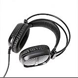 Наушники проводные A2 игровые с микрофоном Чёрные, фото 2