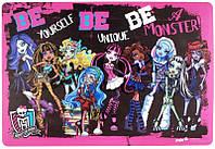 Подложка настольная, 42,5*29см РР Monster High