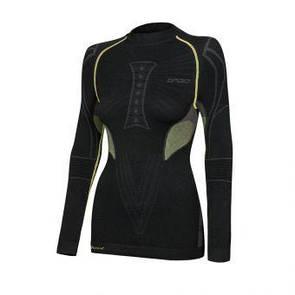 Термореглан женский Spaio Extreme W02 XL зеленый/черный (дом)