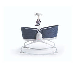 Крісло - ліжечко - качалка 3 в 1 Tiny Love Мамині обійми (синій)  (1805600030)