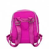 Рюкзак Lacoste double zip 38745 (Размер: 30х27х17) Розовый, фото 3