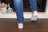 Слипоны женские розовые с перфорацией Т1029, фото 4