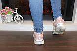 Кроссовки женские пудровые Т1031, фото 3
