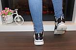 Кроссовки женские черные Т1033, фото 4