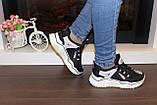 Кроссовки женские черные Т1033, фото 6
