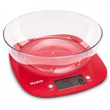 Весы кухонные MAGIO Красный (MG-290)