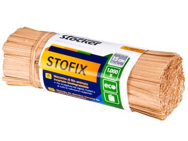 Шпагат-проволока Штокер Stofix саморазлагающийся 15 см / 1000 шт (Stocker 20315)