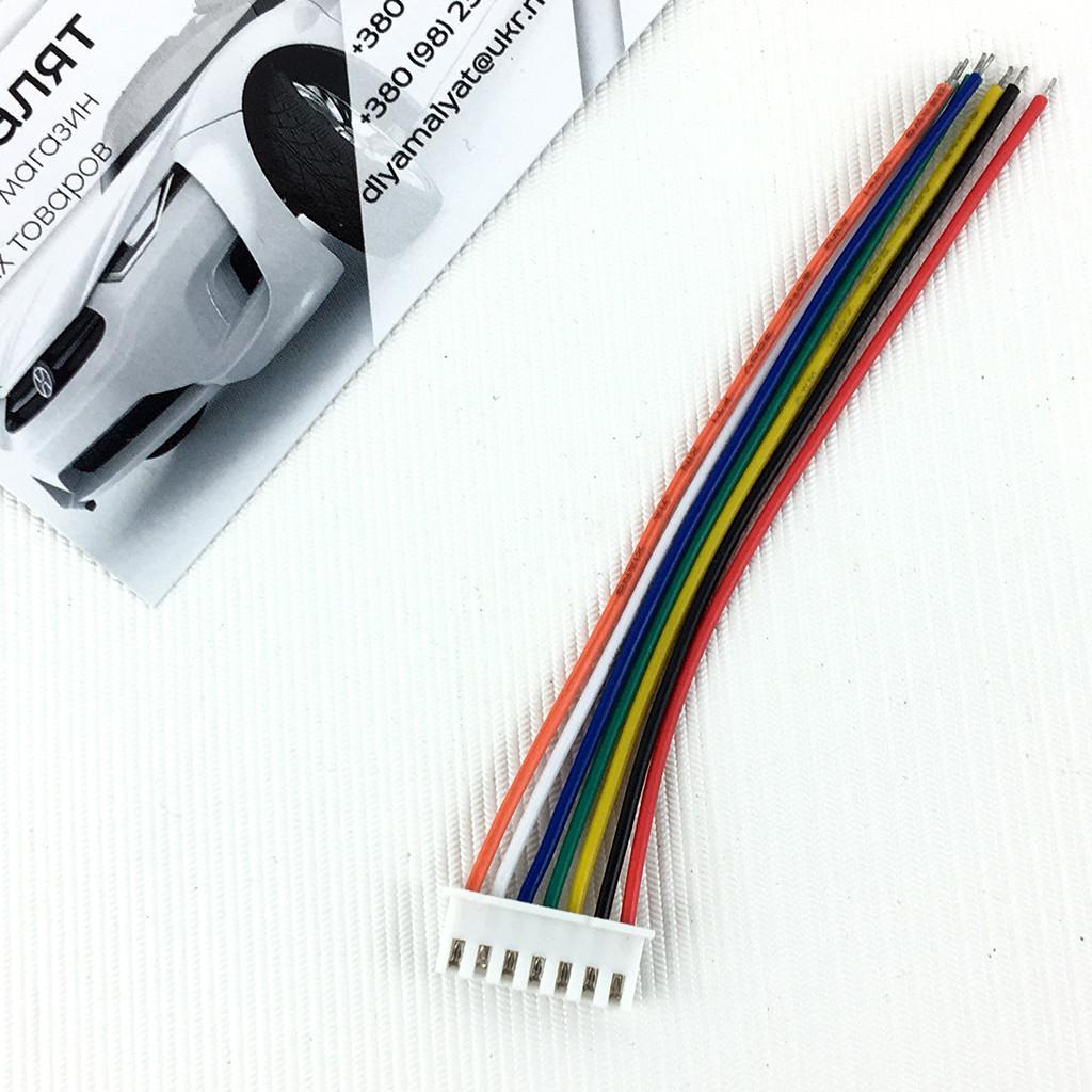 Разъем XH2.54 7pin с проводами 10 см