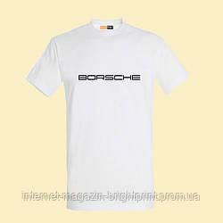 "Чоловіча футболка з принтом ""Borsche"""