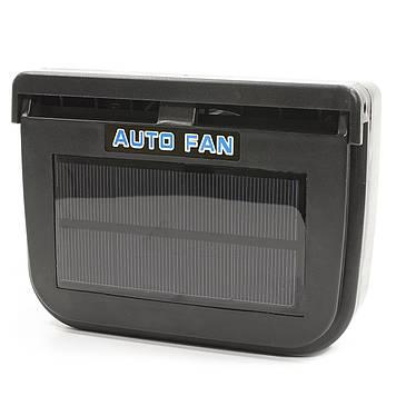 Вентилятор-вытяжка для автомобиля Auto Fan на солнечной батарее (2850-9226)