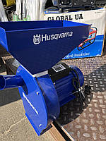 Зернодробилка-Корморезка зерно+корнеплоды+ кукуруза Husqvarna EFS 4300 медная обмотка 4.3кВт