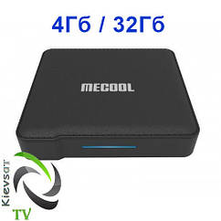 Mecool KM1 Deluxe 4Gb 32Gb  S905X3   leather   Discount Service TV