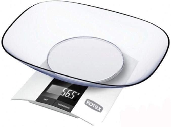 Весы кухонные электронные Potex RSK 10-P до 3 кг Белый (RSK 10-P)