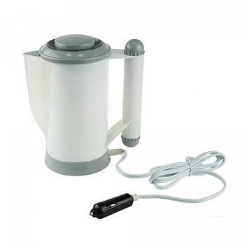 Автомобильный чайник Adenki от прикуривателя 700 мл Белый (46-905928855)