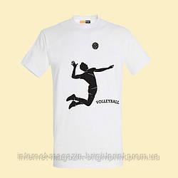 """Чоловіча футболка з принтом """"Volleyball"""""""