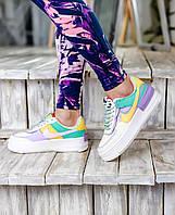 Женские кроссовки Nike Air Force 1 Low Shadow \ Найк Аир Форс 1 Шадов \ Жіночі кросівки Найк Аір Форс 1 Шадов