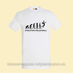 "Чоловіча футболка з принтом ""Volleyball Evolution"""