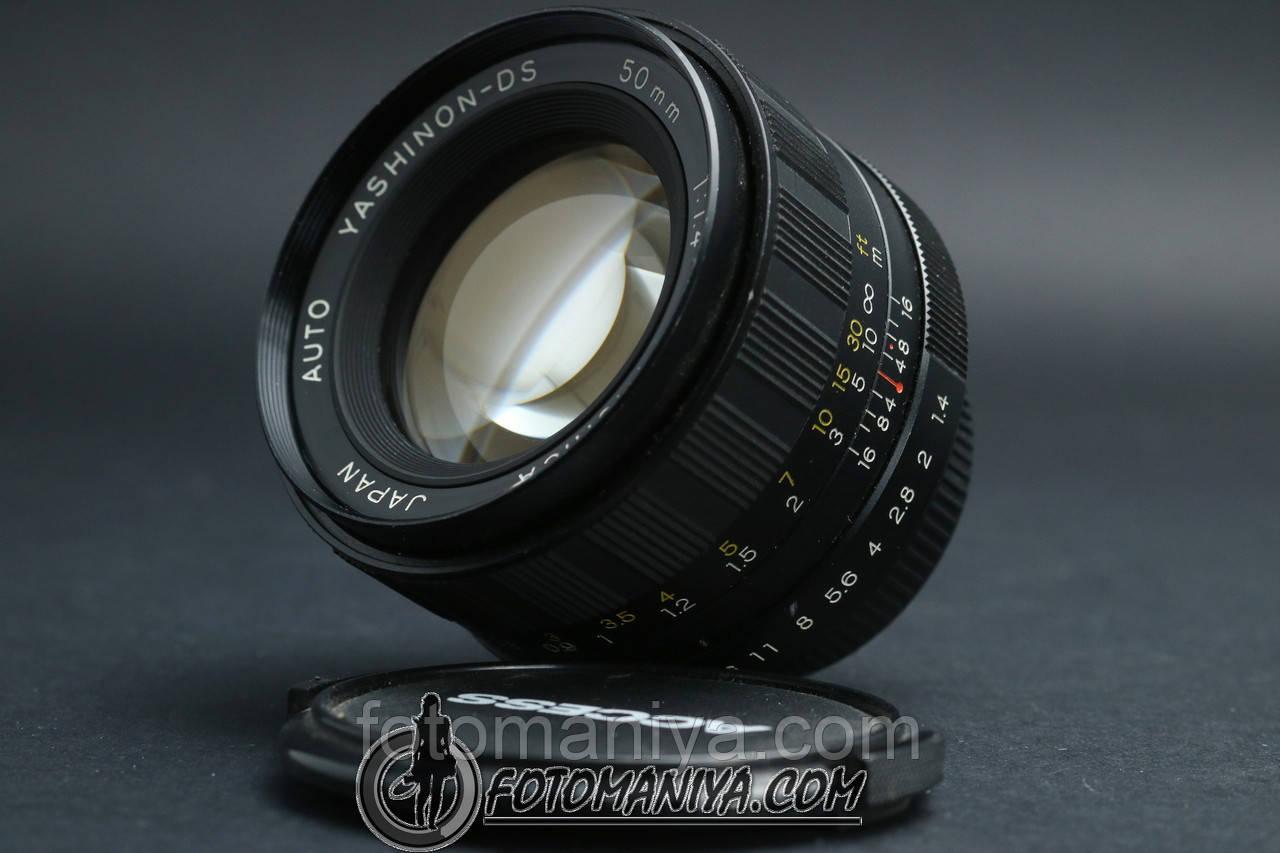 Yashinon-DS 50mm f1.4  M42