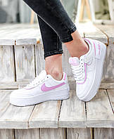 Женские кроссовки Nike Air Force 1 Low Shadow \ Найк Аир Форс 1 Шадов \ Жіночі кросівки Найк Аір Форс 1 Білі