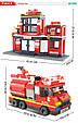 "Конструктор Sluban M38-B0226 ""Пожарная часть"" 693 дет. Конструктор пожарная станция, конструктор пожарное депо, фото 7"