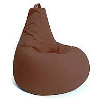 Кресло мешок груша крісло мішок XL 125x90 Коричневый
