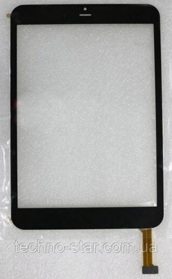 Оригинальный тачскрин / сенсор (сенсорное стекло) для RoverPad Air 7.85 (черный цвет, самоклейка)