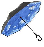 Зонт обратного сложения 110см 8сп MH-2713-4