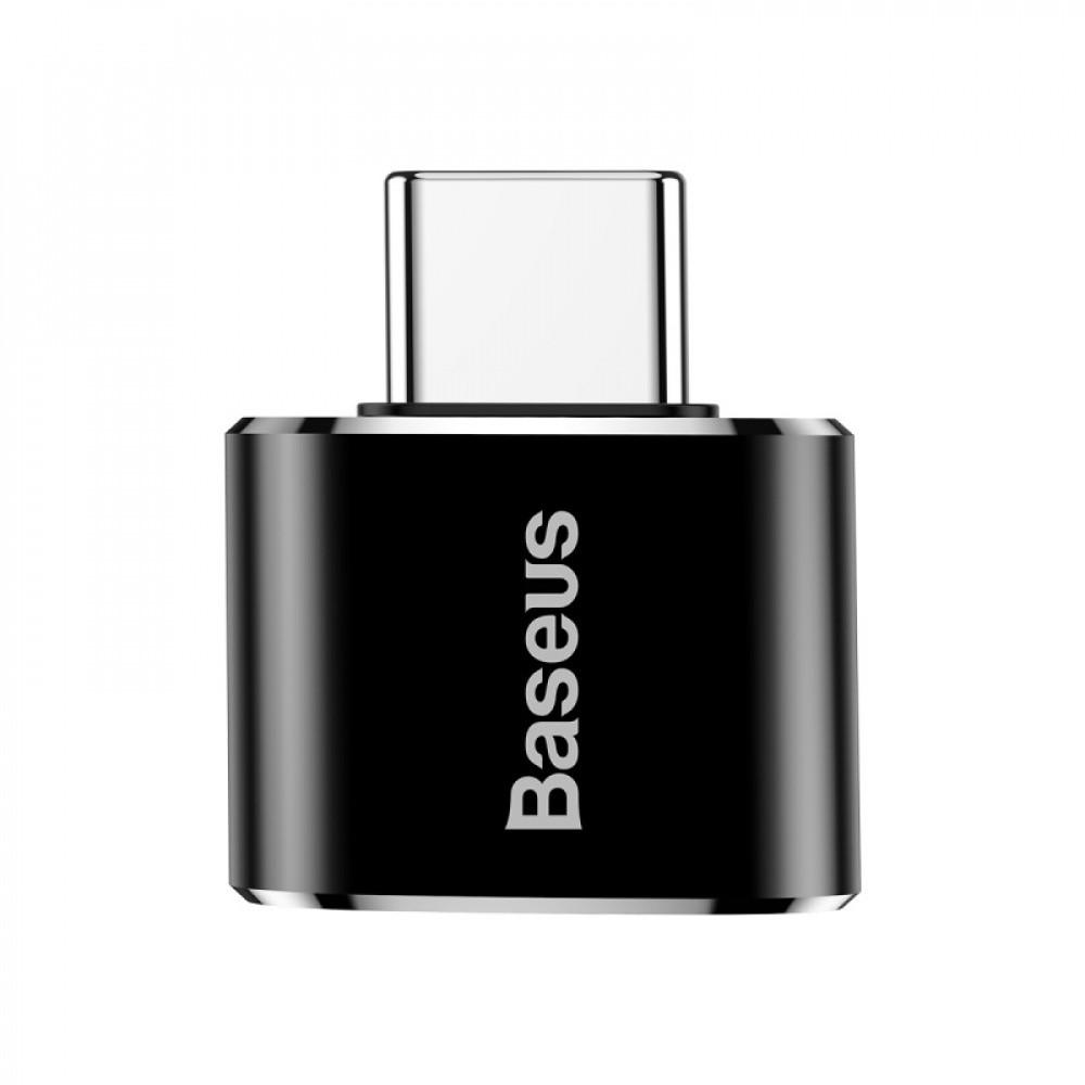 Переходник Baseus Type-C to USB black