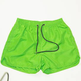 Мужские пляжные шорты для купания (арт. 201510) салатовые L