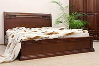 Кровать Шопен из дерева с низким изножьем, фото 1