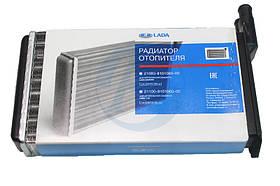 Радиатор отопителя (печки) ВАЗ 2108 2109 21099 2113 2114 2115 алюминиевый АвтоВАЗ