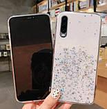 Блестящий чехол с серебряной фольгой Samsung Galaxy A71 /A715F, фото 3