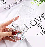 Блестящий чехол с серебряной фольгой Samsung Galaxy A71 /A715F, фото 4