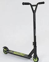 Самокат трюковый Best Scooter алюминиевый диск и дека, колёса PU, d=10см