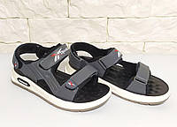 Подростковые кожаные босоножки сандалии для мальчиков 34,35,37 (21,5-23,5 см)