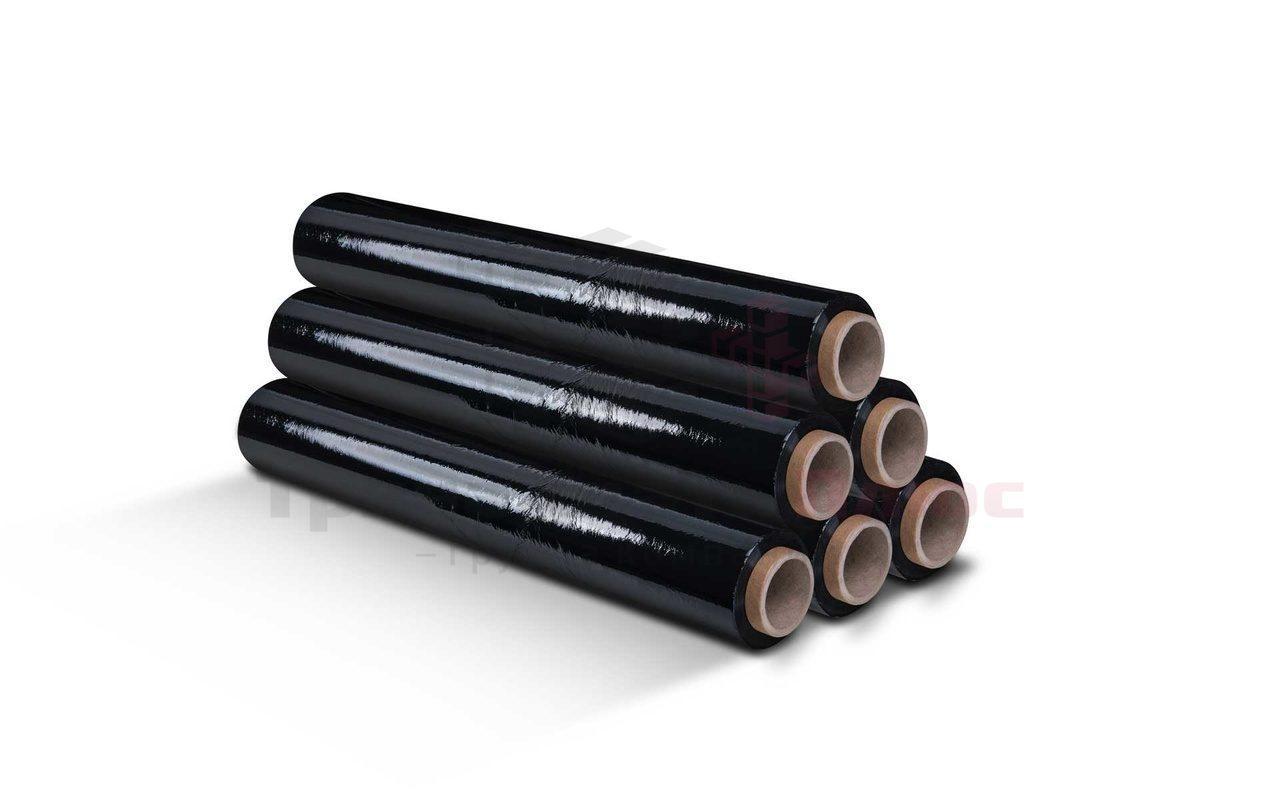 Стрейч-пленка упаковочная 2,5кг, чёрный