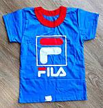 """Детская футболка """"FILA"""", фото 2"""