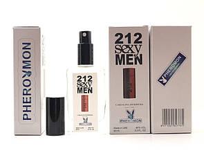 Мужская туалетная вода Carolina Herrera 212 Sexy Men (Каролина Херрера 212 Секси Мэн) тестер 60ml (реплика)