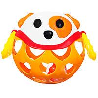 Погремушка Мягкий мяч Собака, BeBeLino
