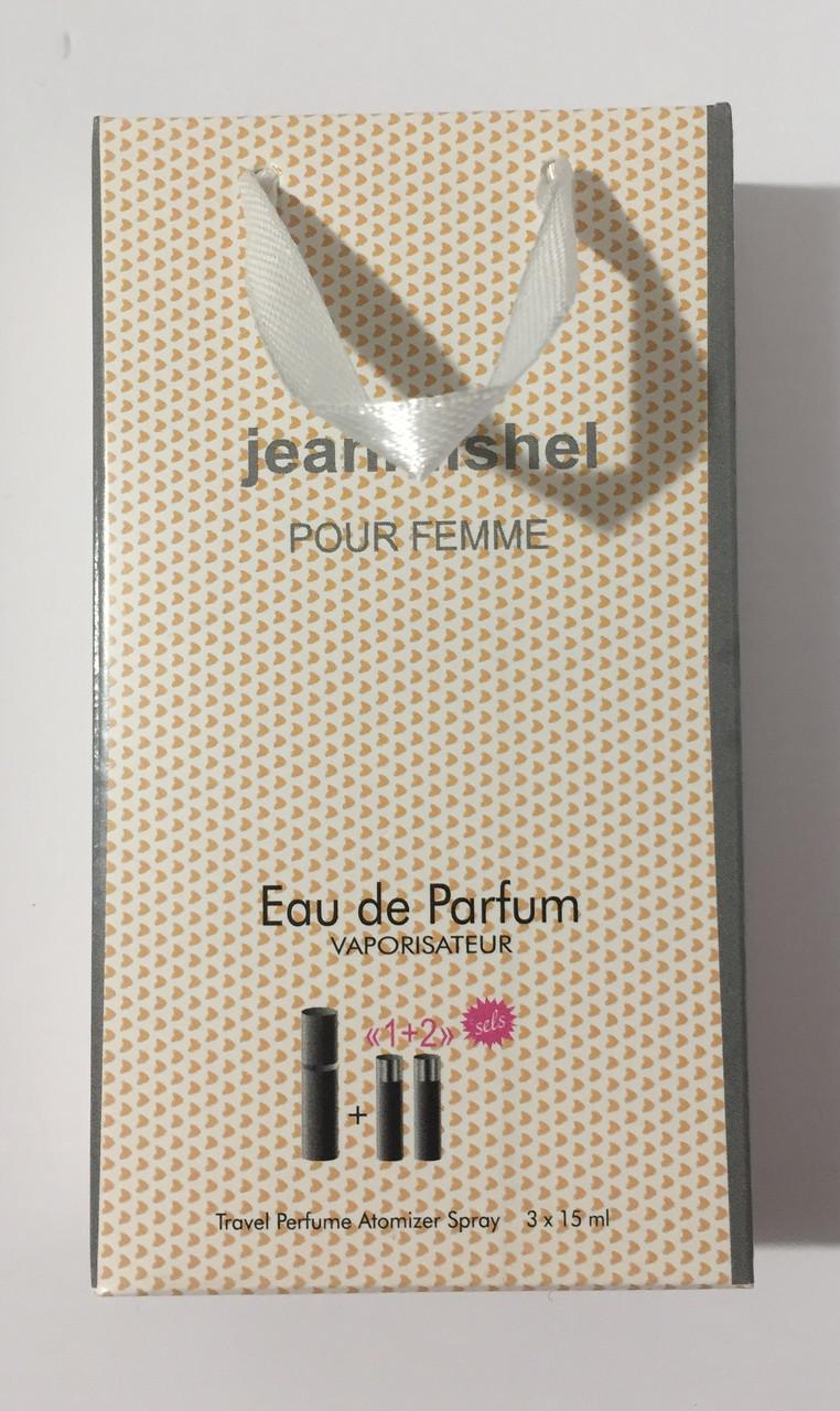 Мини парфюм в подарочной упаковке jeanmishel pour femme 45мл