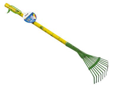 Грабли детские веерные зеленые Штокер Kid's Garden (Stocker 2305)