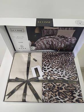 Комплект постельного белья Ecosse Сатин Leopard Семья, фото 2