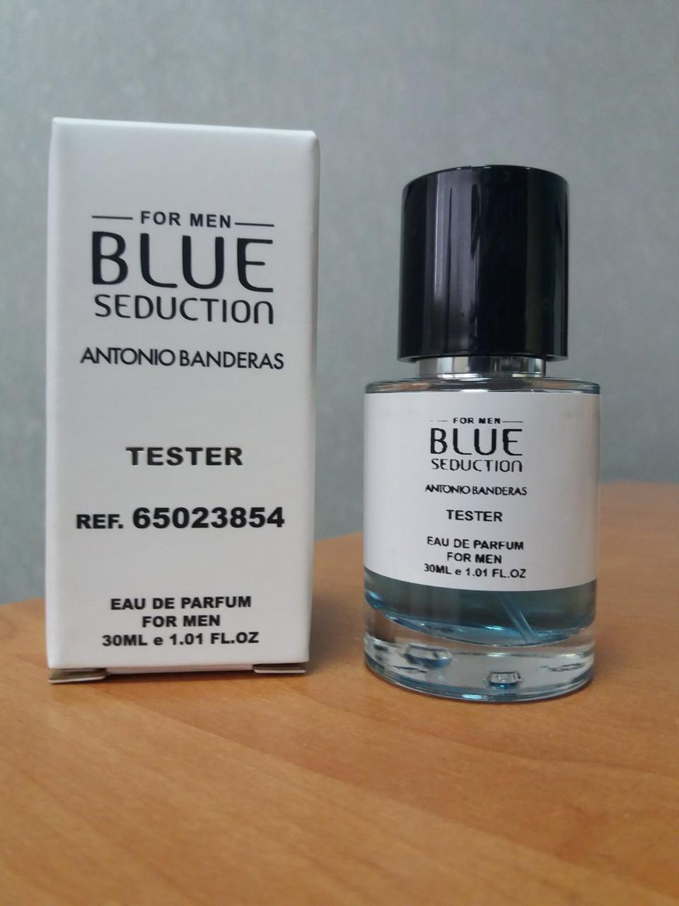 Antonio Banderas Seduction Blue мужской парфюм тестер 30 ml (реплика)