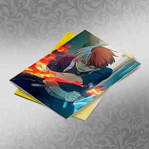 Скетчбук А5 кремовые листы Boku no Hero Academy 30 листов 003
