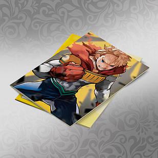 Скетчбук А5 кремовые листы Boku no Hero Academy 30 листов 008