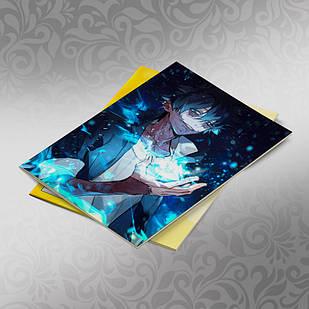 Скетчбук А5 кремовые листы Boku no Hero Academy 30 листов 009