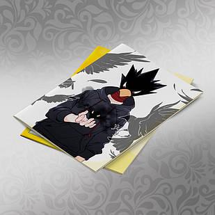 Скетчбук А5 кремовые листы Boku no Hero Academy 30 листов 013