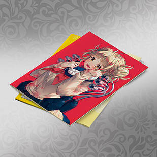 Скетчбук А5 кремовые листы Boku no Hero Academy 30 листов 014