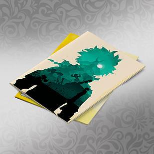 Скетчбук А5 кремовые листы Boku no Hero Academy 30 листов 015
