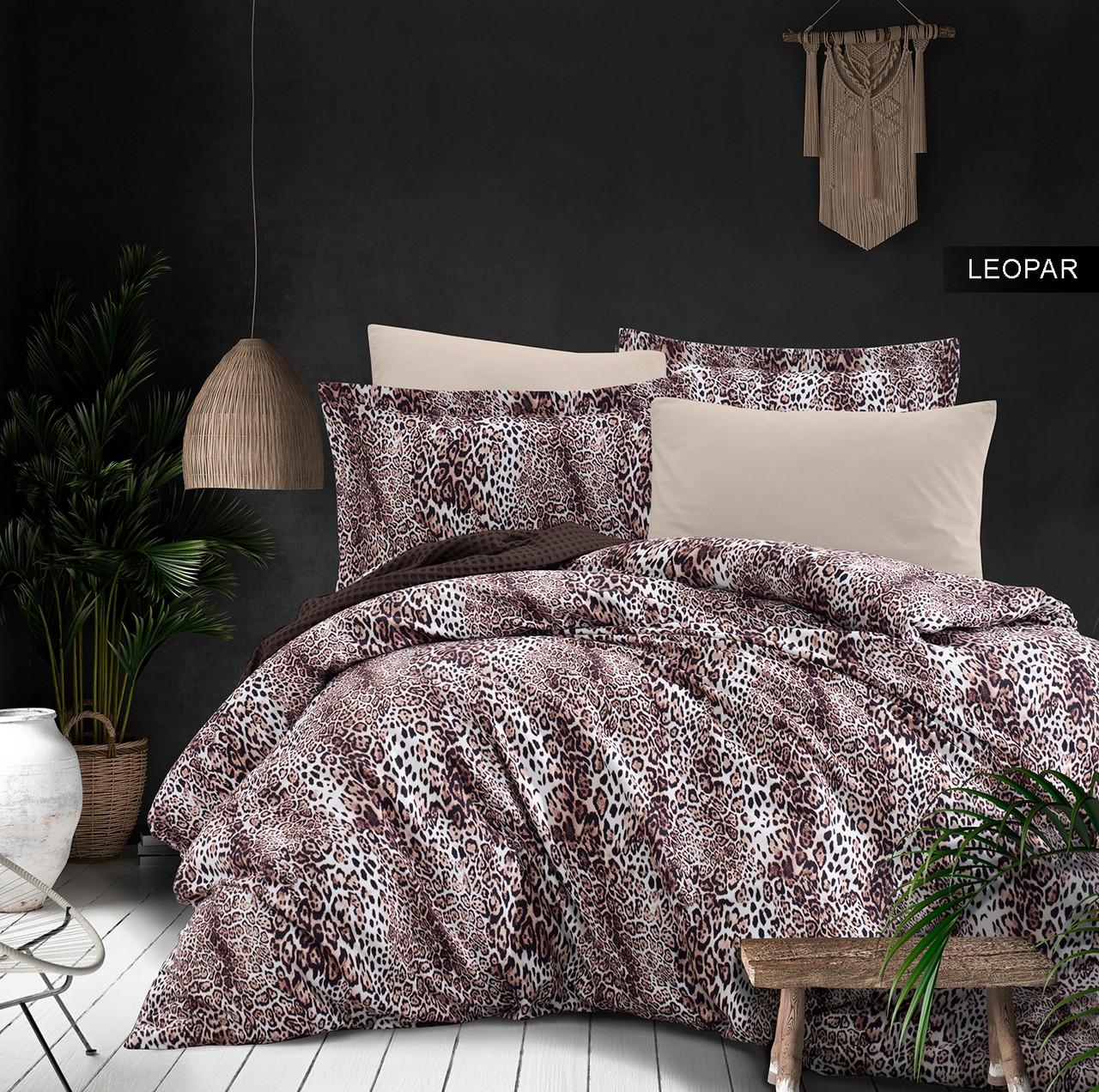 Комплект постельного белья Ecosse Сатин Leopard Семья